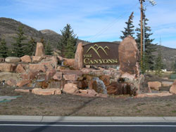canyons sign